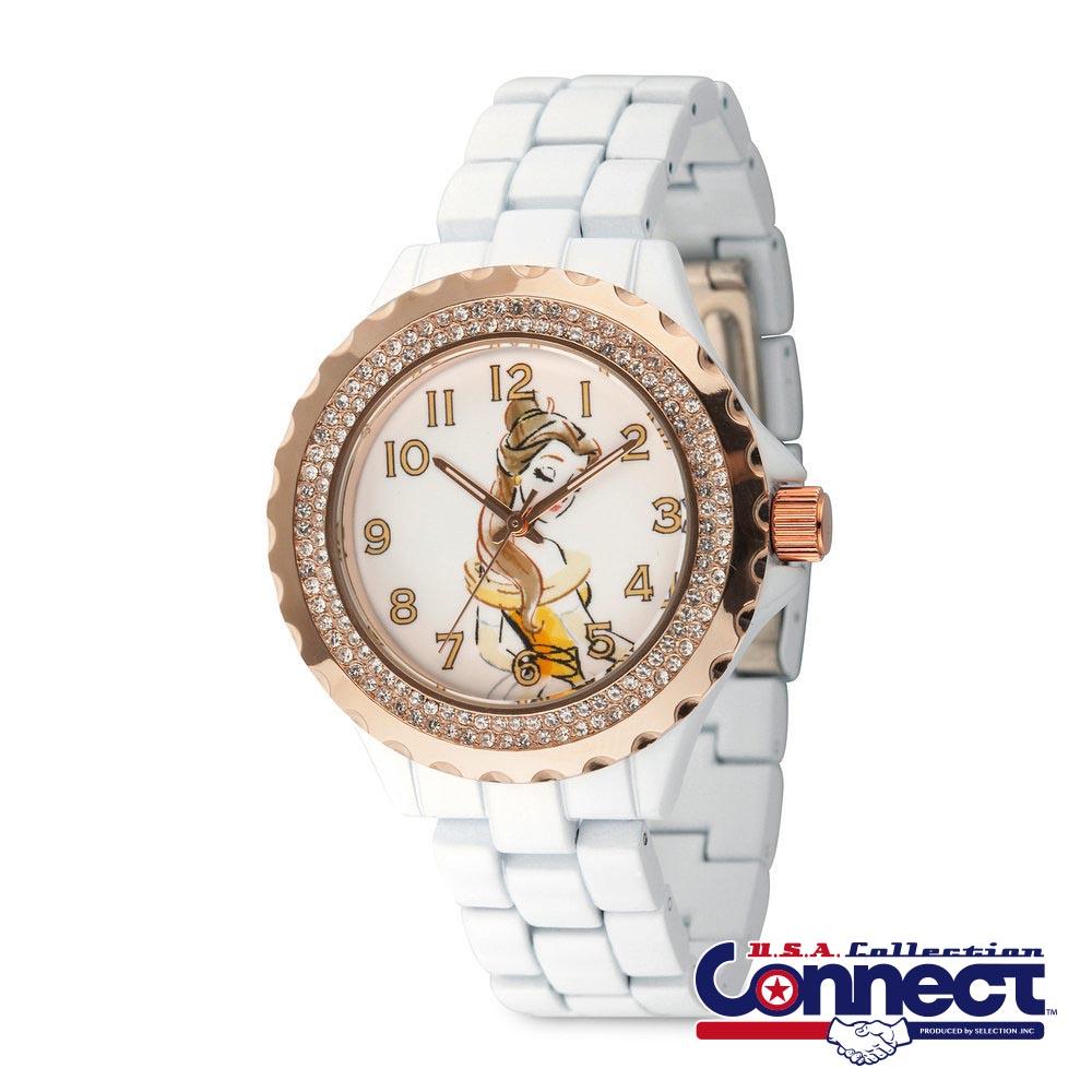 ディズニー Disney レディース ベル 美女と野獣 腕時計 ギフト プレゼント