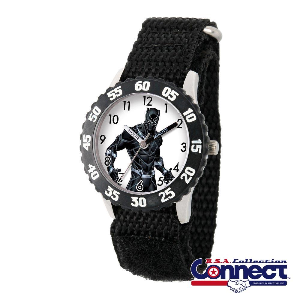 マーベル Marvel キッズ 男の子 女の子 ブラックパンサー 腕時計