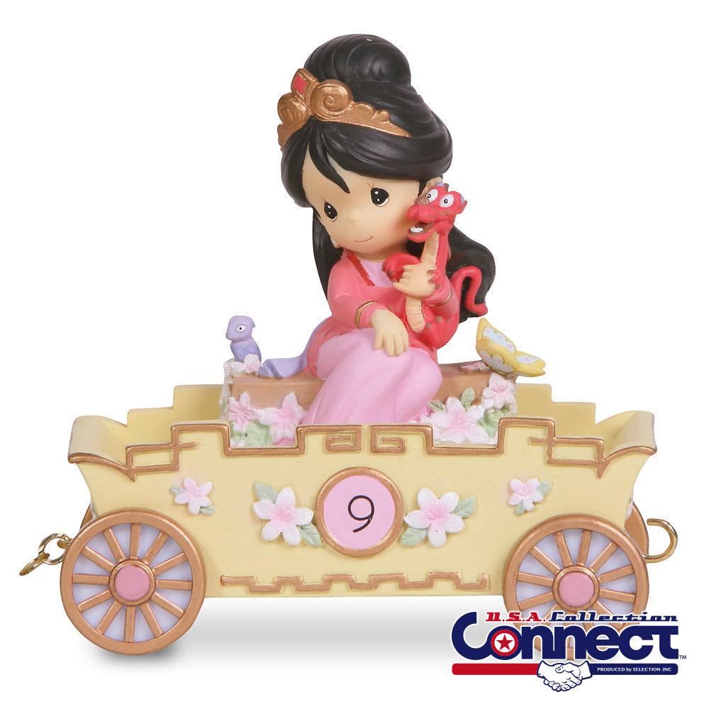 ディズニー Disney ムーラン バースデー フィギュア 9歳 プレシャスモーメンツ ギフト プレゼント