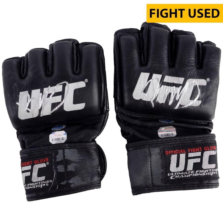 UFC 選手実使用 サイン入り グローブ ベニール ダリウシュ UFC on FOX Machida vs Rockhold