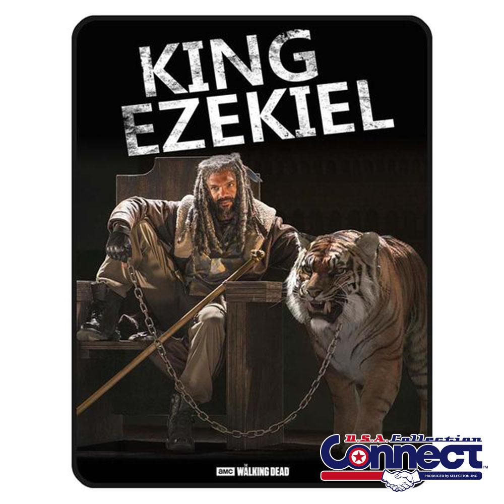 ウォーキングデッド ゾンビ The Walking Dead Ezekiel フリース 毛布 ブランケット