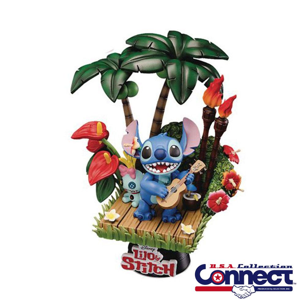 ディズニー Disney US公式 スティッチ リロアンドスティッチ フィギュア スタチュー Dセレクト D-Select