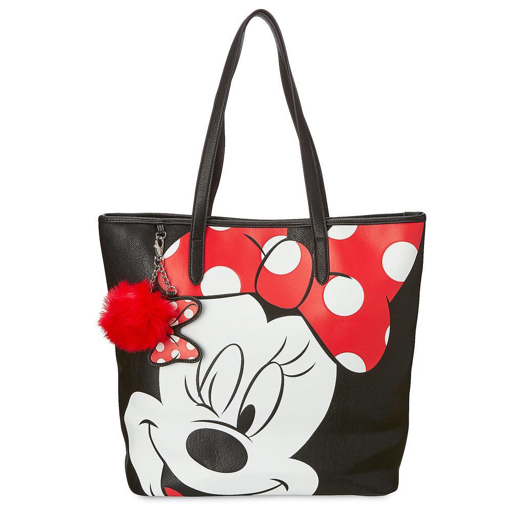 お取り寄せ ディズニー Disney US公式 ミニーマウス トートバッグ ラウンジフライ Loungefly