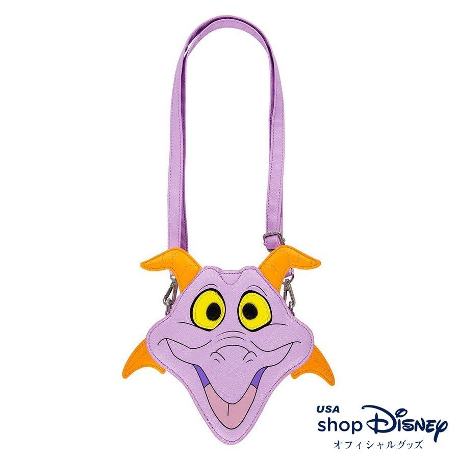 お取り寄せ ディズニー Disney US公式 フィグメント ジャーニーイントゥイマジネーション ショルダーバッグ ラウンジフライ Loungefly