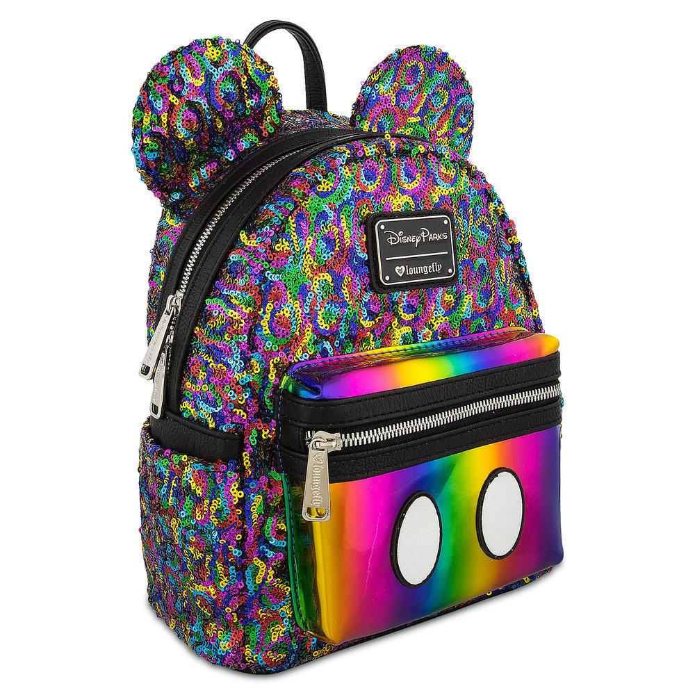 お取り寄せ ディズニー Disney US公式 ミッキーマウス ミニバックパック リュック ラウンジフライ Loungefly