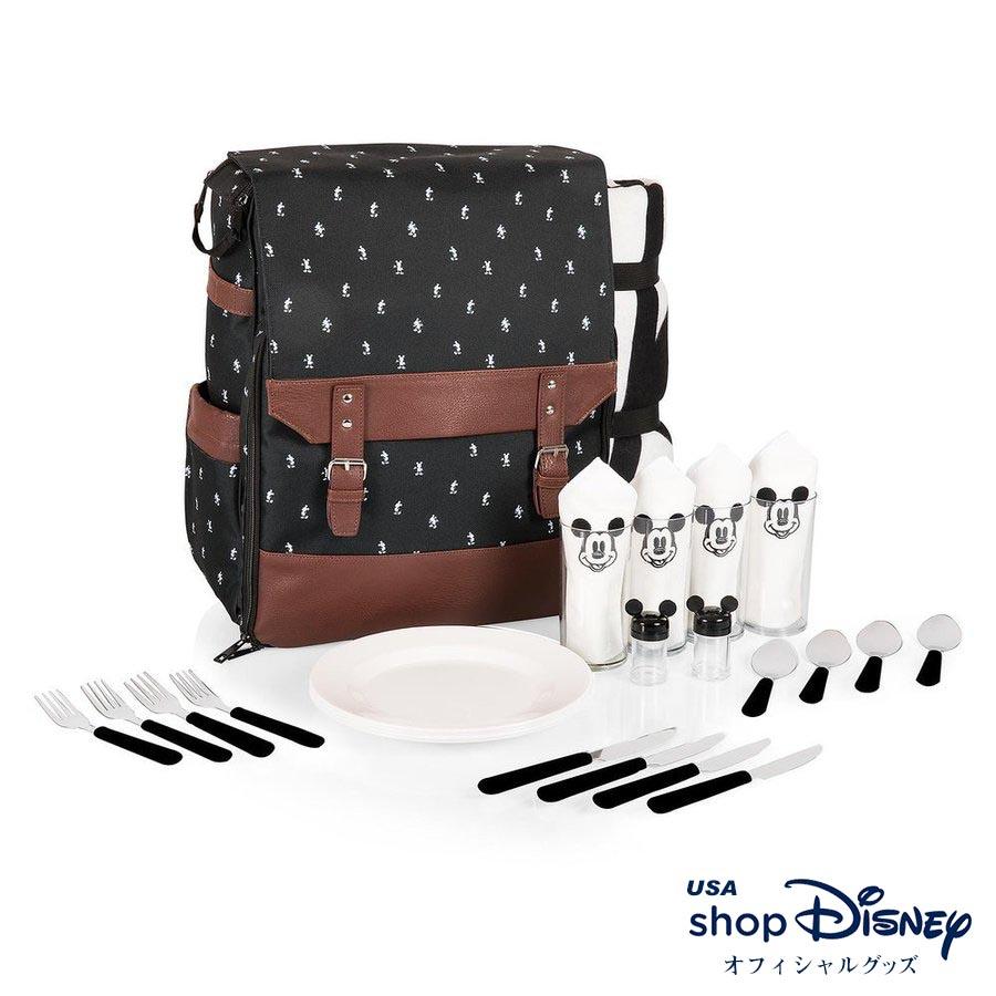 お取り寄せ ディズニー Disney US公式 ミッキーマウス ピクニックセット バックパック リュック