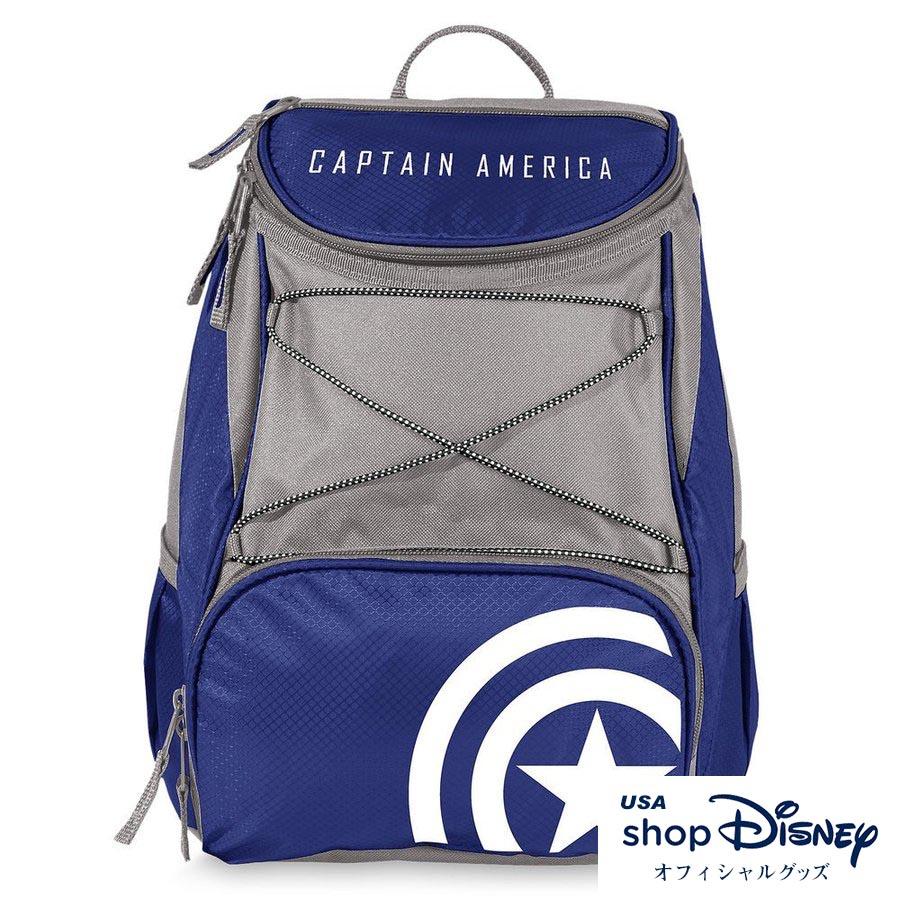 お取り寄せ ディズニー Disney US公式 キャプテンアメリカ 保冷バッグ クーラーバックパック リュック