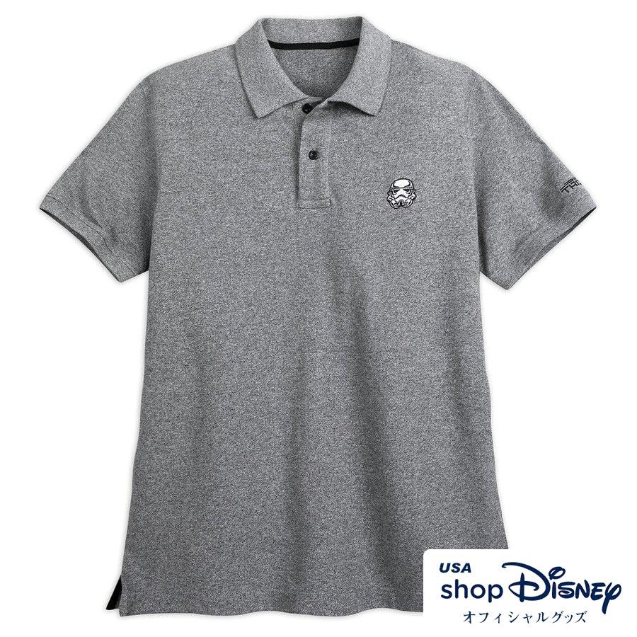 お取り寄せ スターウォーズ StarWars US公式 メンズ ストームトルーパー ポロシャツ 半袖