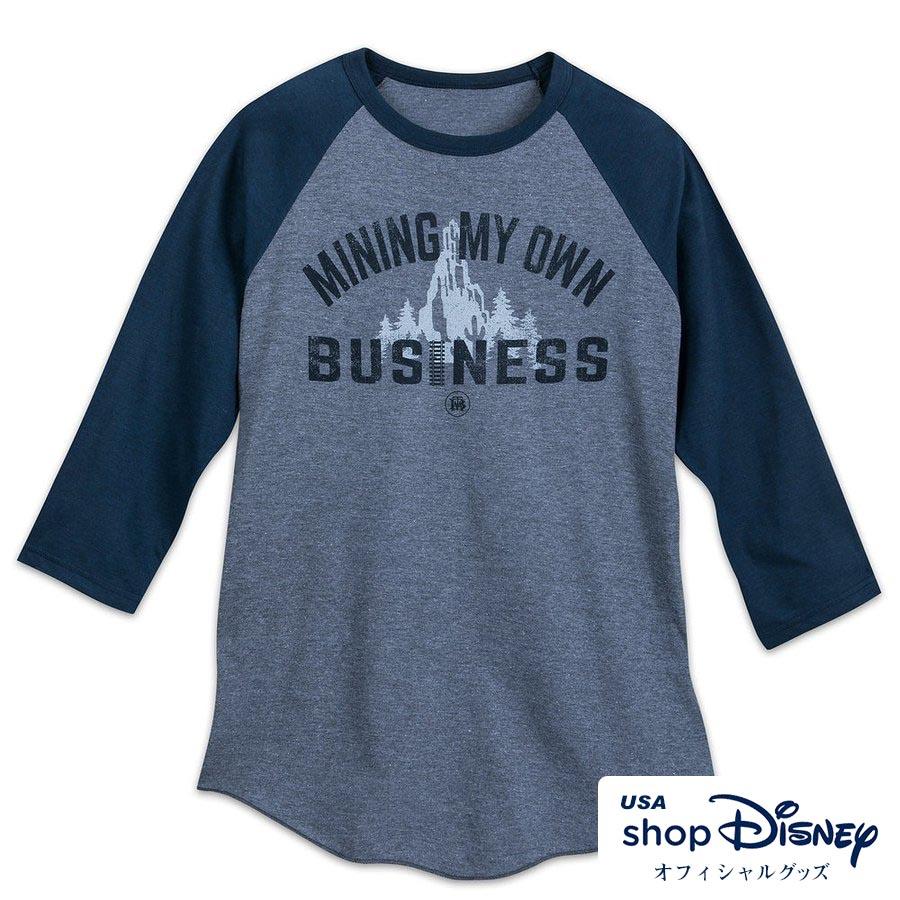 ディズニー Disney US公式 メンズ ビッグサンダー・マウンテン ベースボール Tシャツ 七分袖 ギフト プレゼント