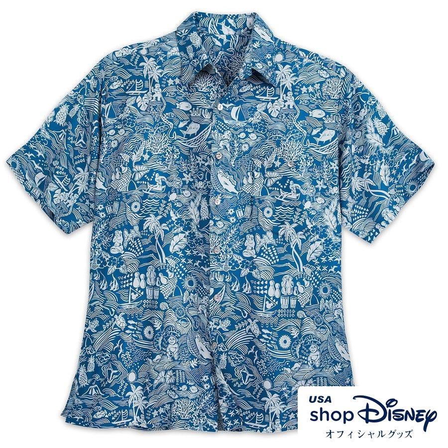 お取り寄せ ディズニー Disney US公式 メンズ アロハシャツ