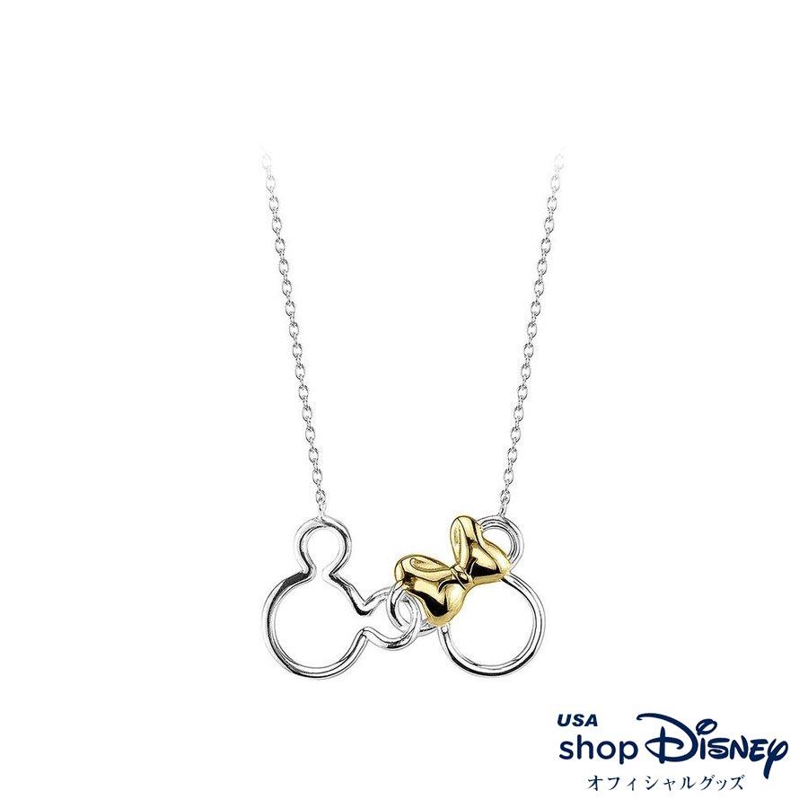ディズニー Disney レディース ミッキー ミニー ネックレス ギフト プレゼント