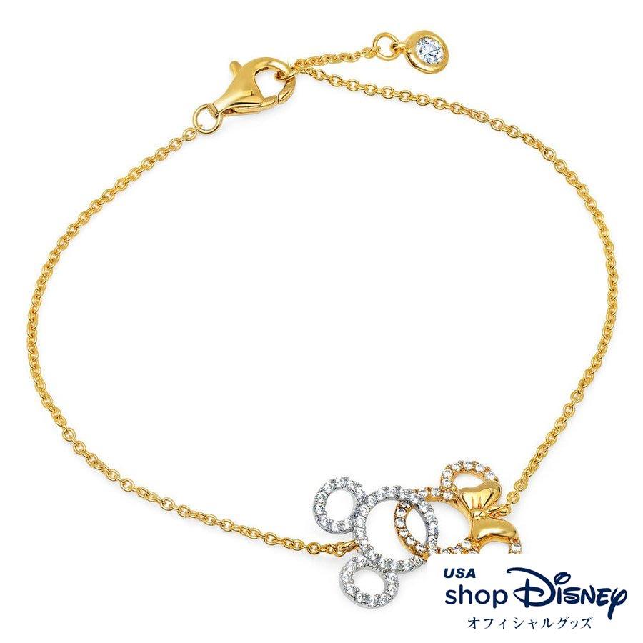 ディズニー Disney レディース ミッキー ミニー ブレスレット ギフト プレゼント