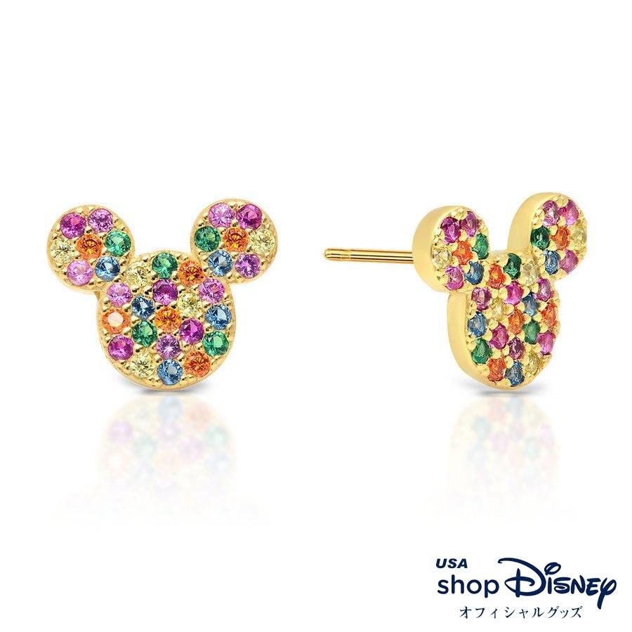 ディズニー Disney レディース ミッキーマウス ピアス ギフト プレゼント