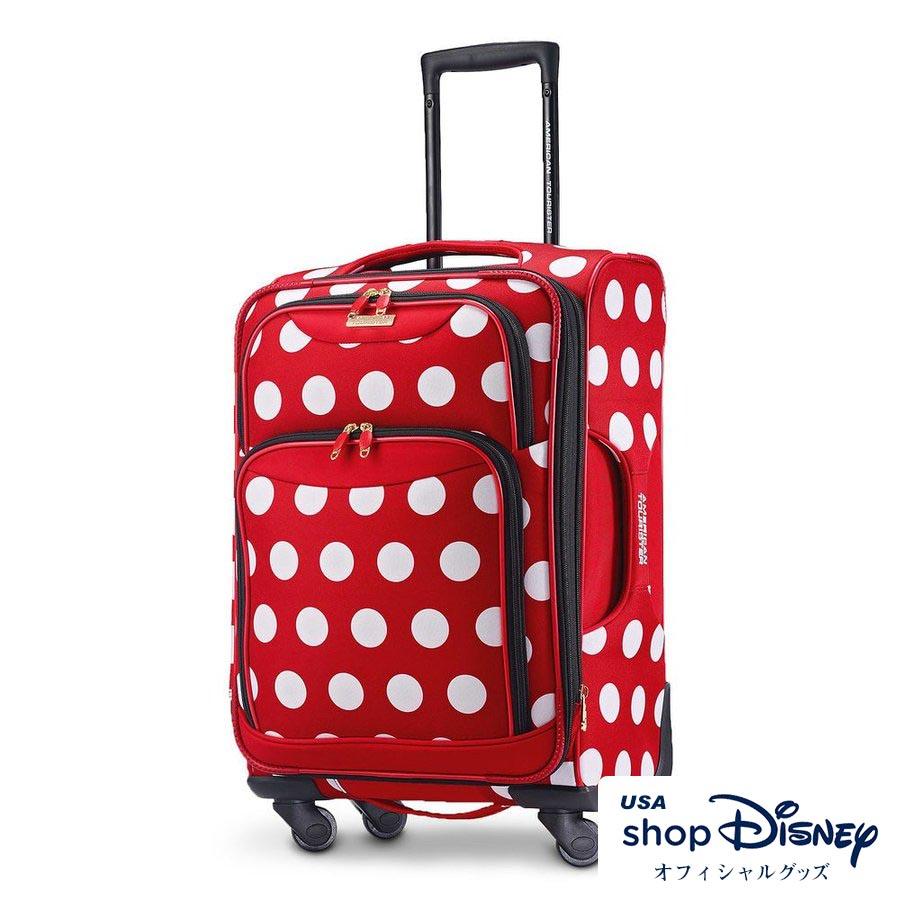 ディズニー Disney ミニーマウス キャリーバッグ スーツケース Sサイズ アメリカンツーリスター ギフト プレゼント