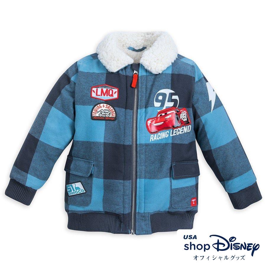 ディズニー Disney US公式 キッズ 男の子 女の子 ライトニングマックイーン カーズ ボンバージャケット