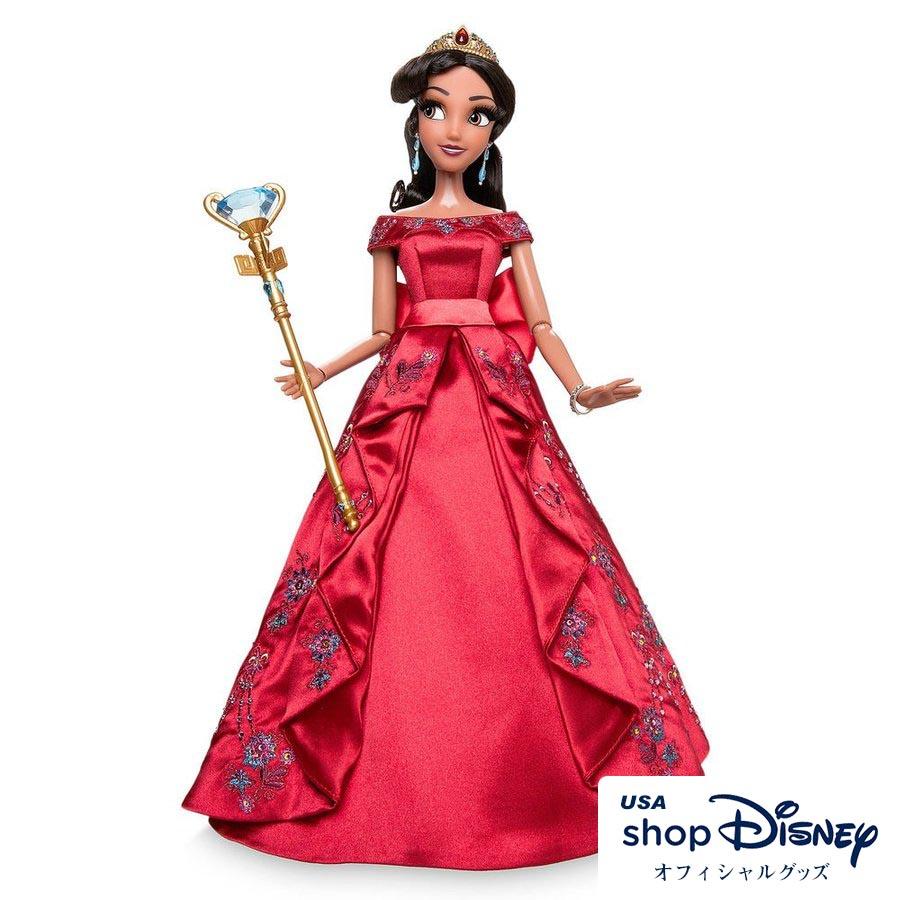 ディズニー Disney US公式 エレナ アバローのプリンセスエレナ ドール 人形 リミテッドエディション
