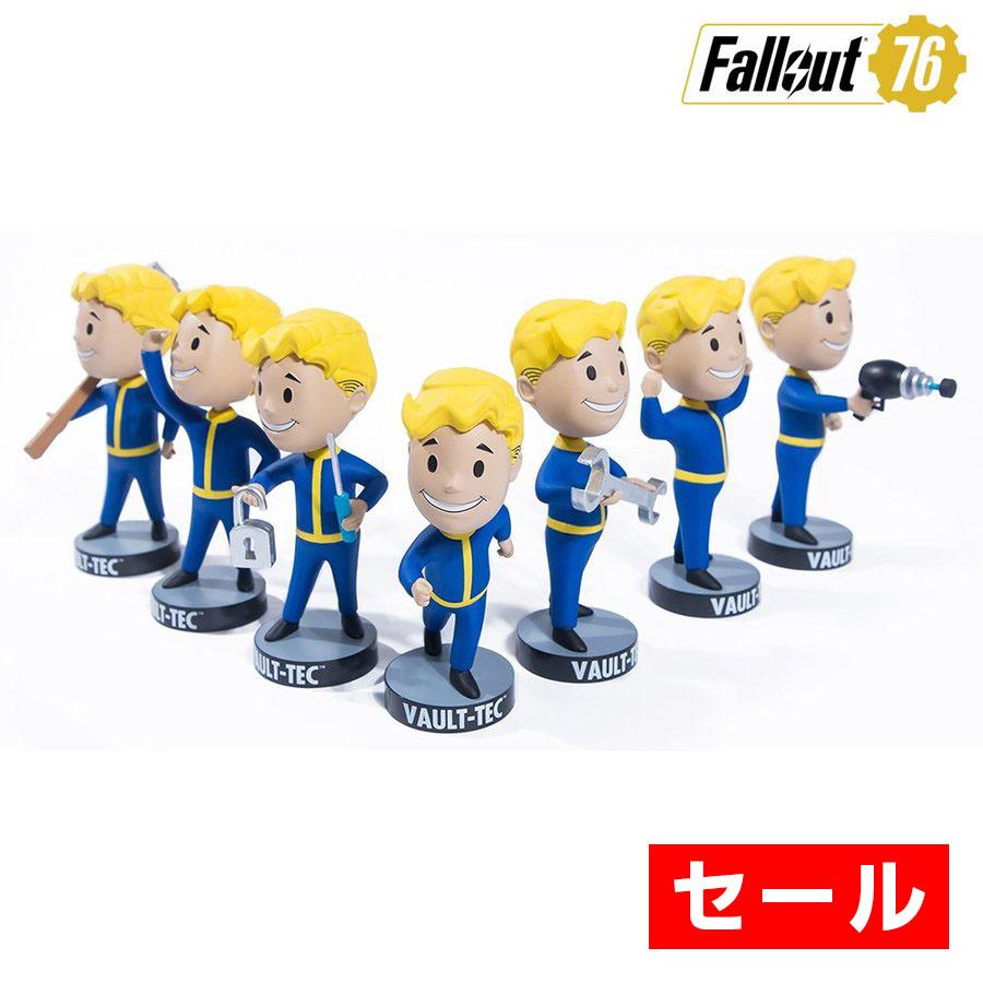 セール Fallout 76 フォールアウト グッズ ボルトボーイ 76 ボブルヘッドフィギュア シリーズ1 7 コンプリートパック