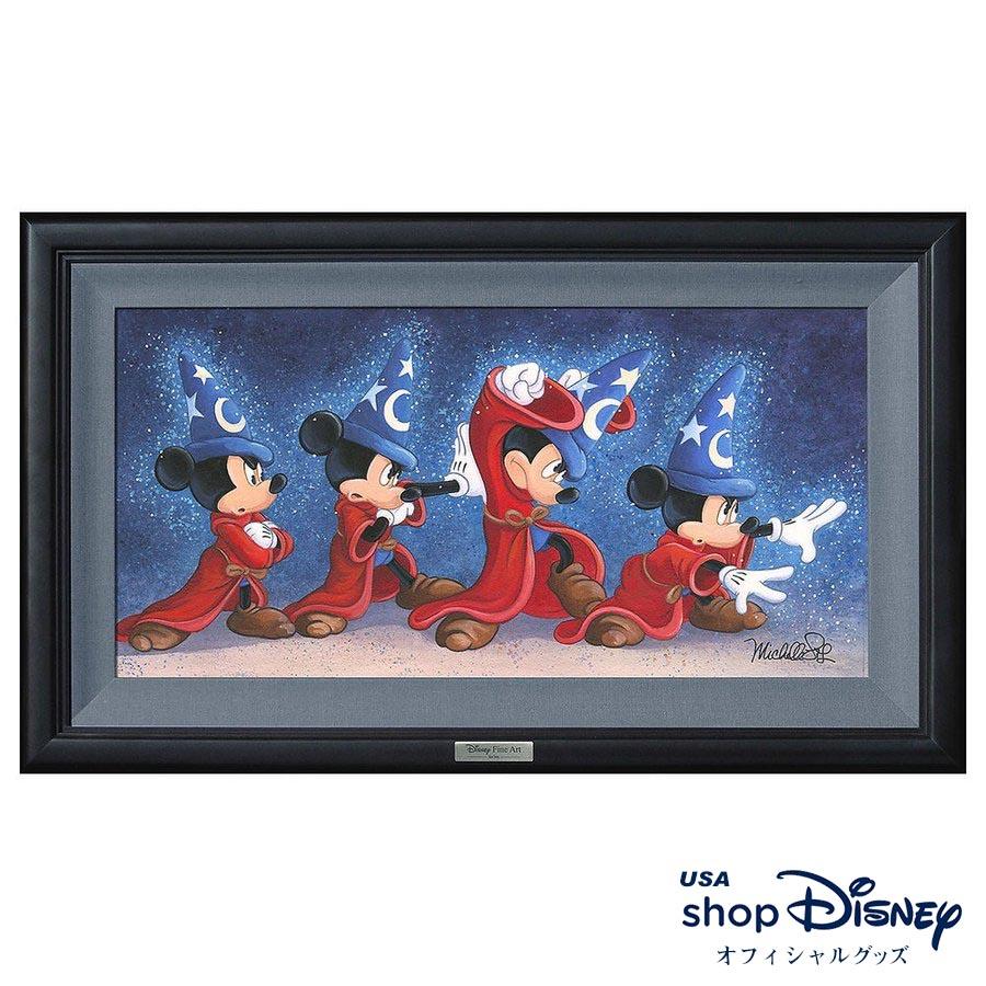 ディズニー Disney ミッキーマウス アートフレーム 限定版 Michelle St.Laurent ギフト プレゼント