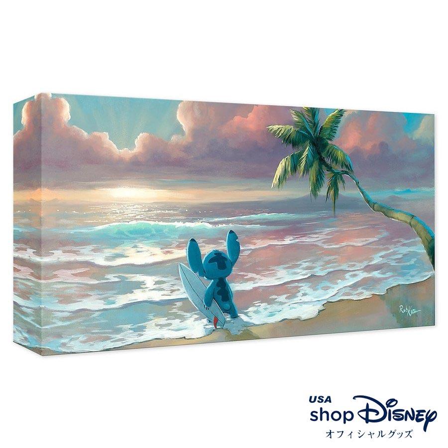 ディズニー Disney スティッチ リロアンドスティッチ アートパネル Rob Kaz ギフト プレゼント