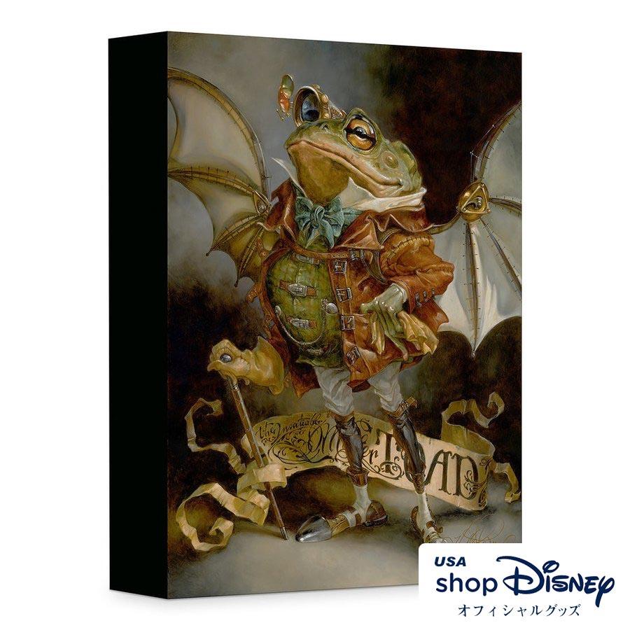 ディズニー Disney イカボードとトード氏 アートパネル Heather Theurer ギフト プレゼント