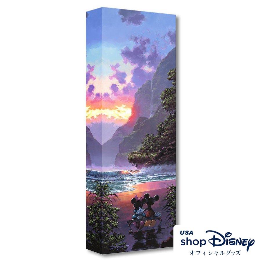 ディズニー Disney ミッキー ミニー アートパネル Rodel Gonzalez ギフト プレゼント