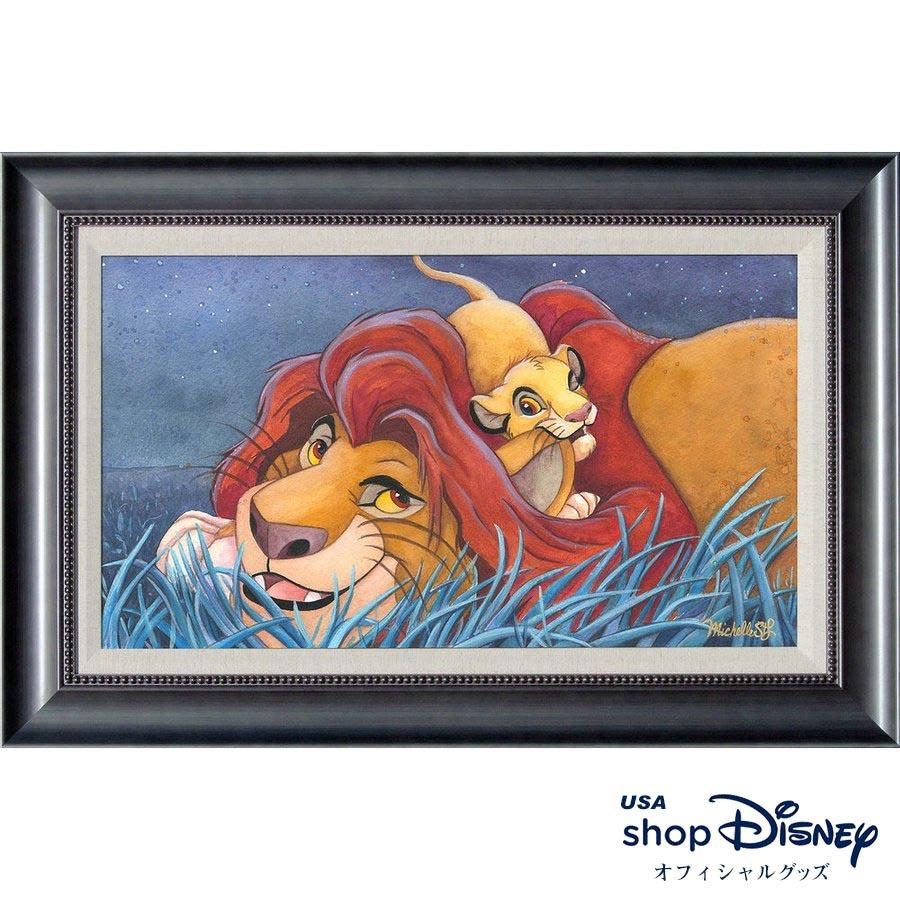 ディズニー ギフト Disney ライオンキング アートフレーム 限定版 Michelle St.Laurent St.Laurent ギフト 限定版 プレゼント, トミヤマムラ:b1da8f87 --- sunward.msk.ru