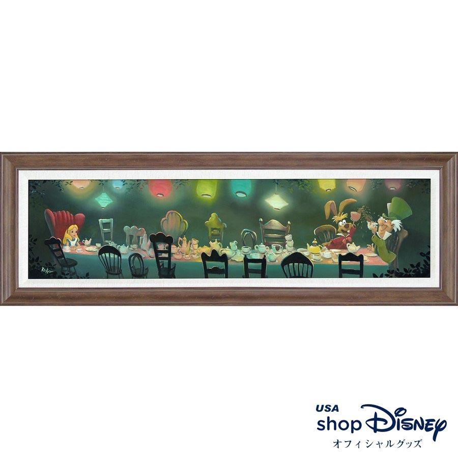 ディズニー Disney US公式 不思議の国のアリス アートフレーム Rob Kaz