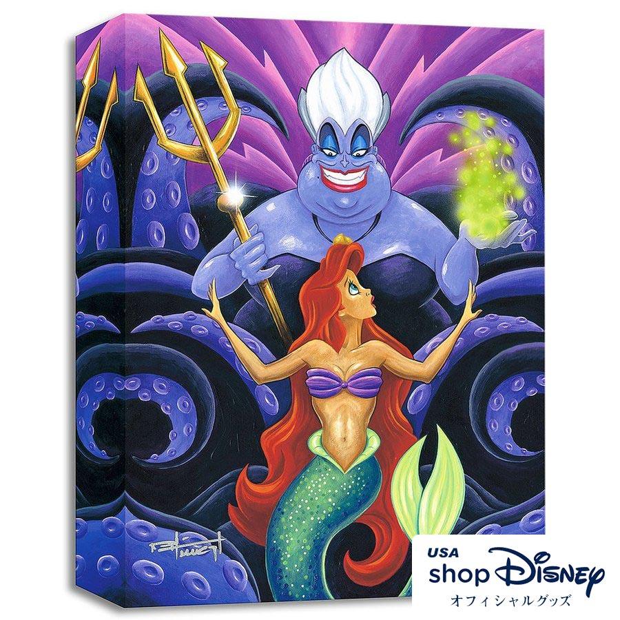 ディズニー Disney アリエル アースラ アリエル リトルマーメイド アースラ アートパネル Mike Kungl ギフト ギフト プレゼント, イワミグン:b827259d --- sunward.msk.ru
