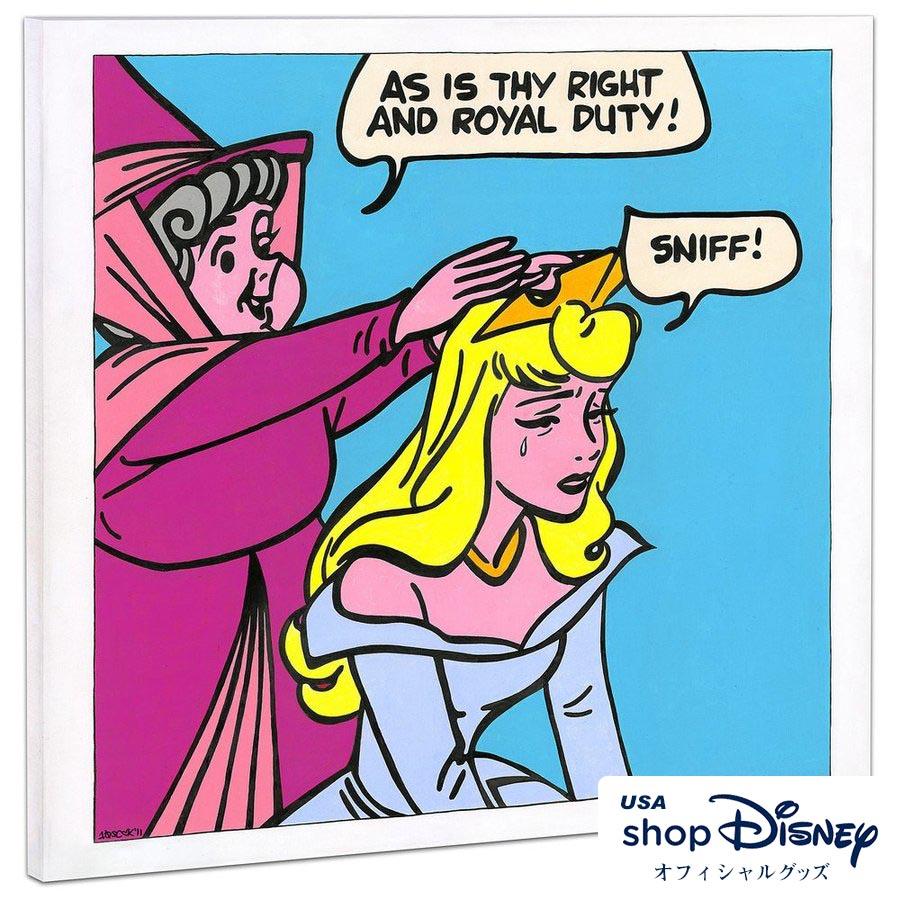 ディズニー Disney 眠れる森の美女 ポップアートパネル Tennessee Loveless ギフト プレゼント