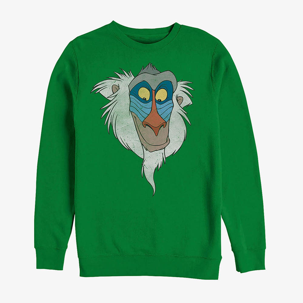 ディズニー Disney レディース メンズ兼用 ラフィキ ライオンキング スウェットシャツ