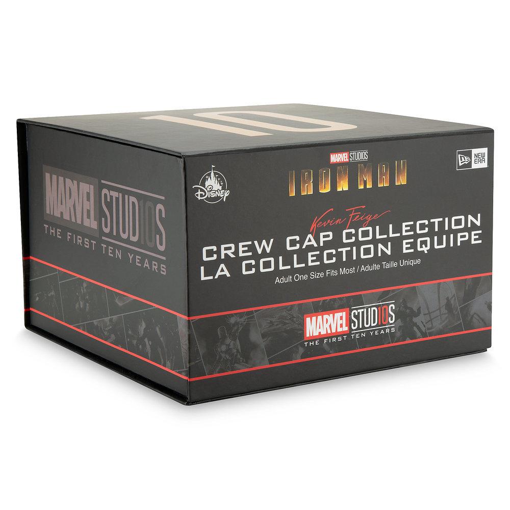 New gills NewEra of the 10th anniversary of reservation Ma Bell Marvel US  formula iron man collectors box cap Ma Bell studio de8d7e38be7d