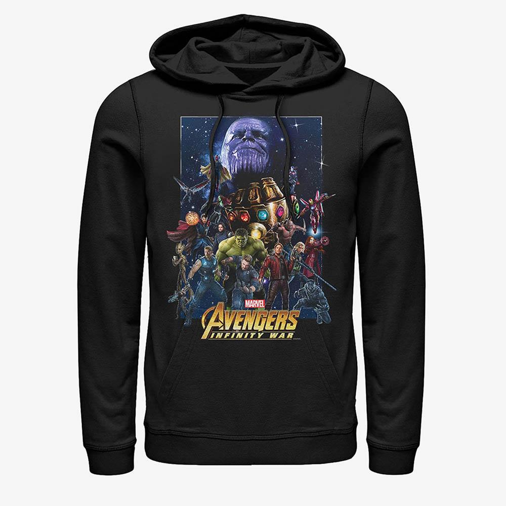 マーベル Marvel グッズ メンズ アベンジャーズ パーカー フーディー プルオーバー 即日発送可