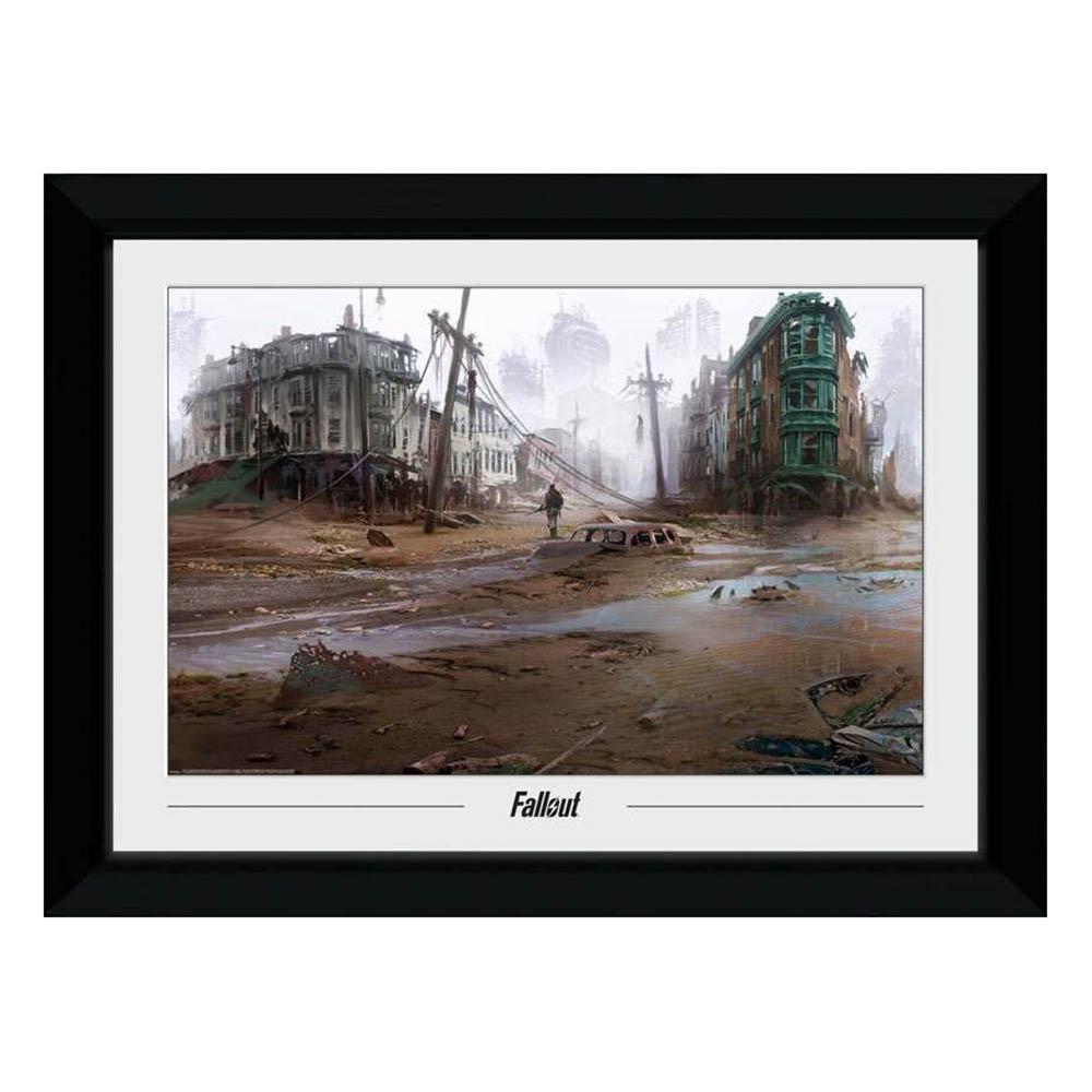 Fallout フォールアウト グッズ グッズ アートフレーム フォトフレーム Fallout コンセプトアート ノースエンド, アラカワムラ:4bda2e2a --- sunward.msk.ru