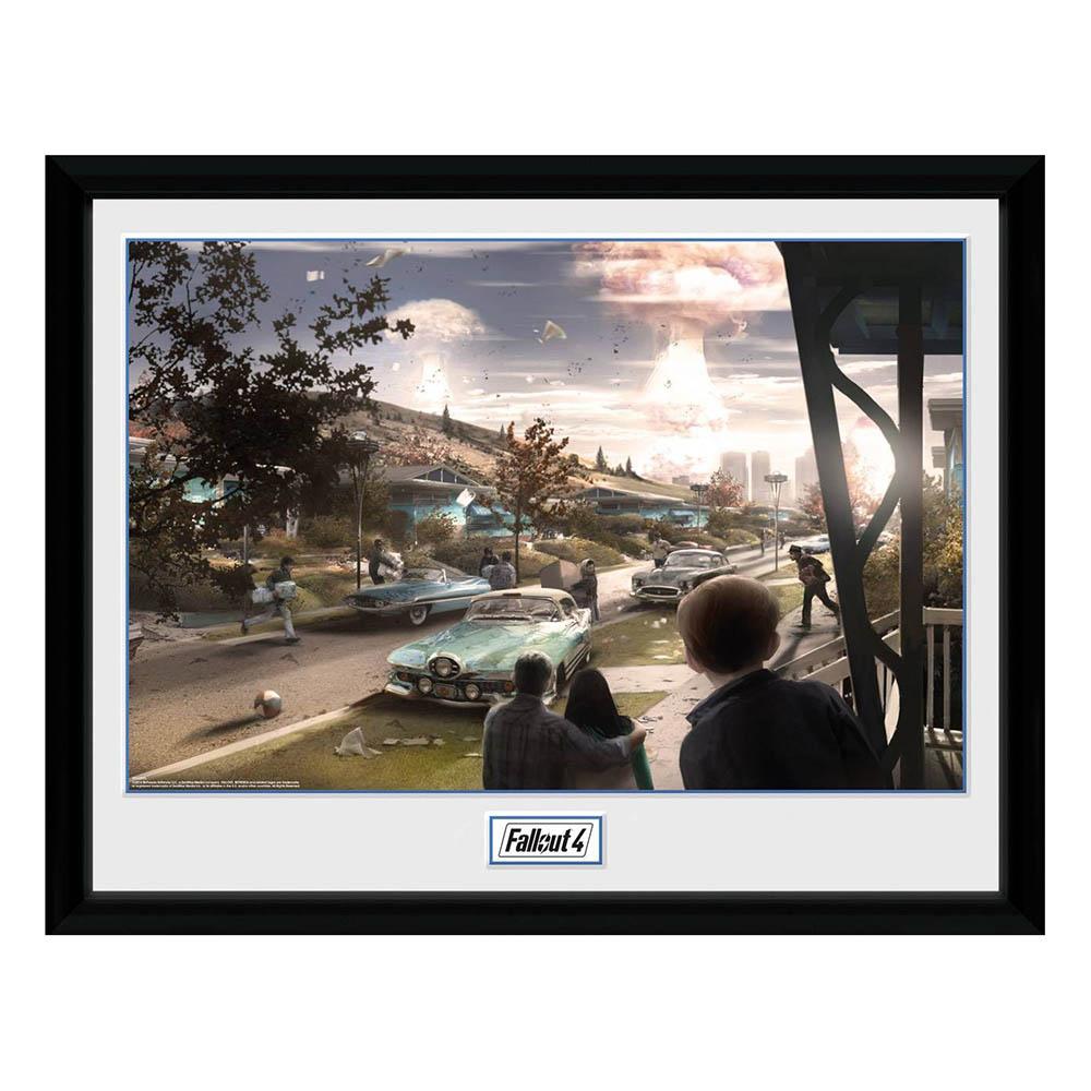 Fallout 4 フォールアウト グッズ アートフレーム フォトフレーム コンセプトアート サンクチュアリ ヒルズ