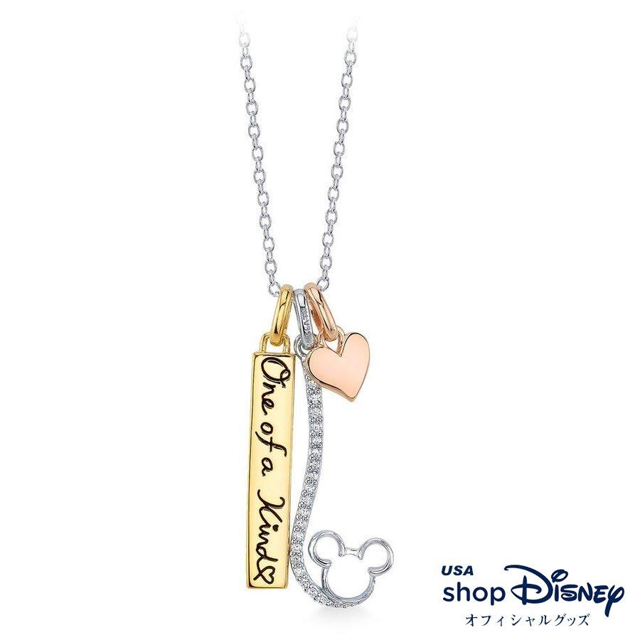ディズニー Disney レディース ミッキーマウス デビュー90周年記念 ネックレス ギフト プレゼント