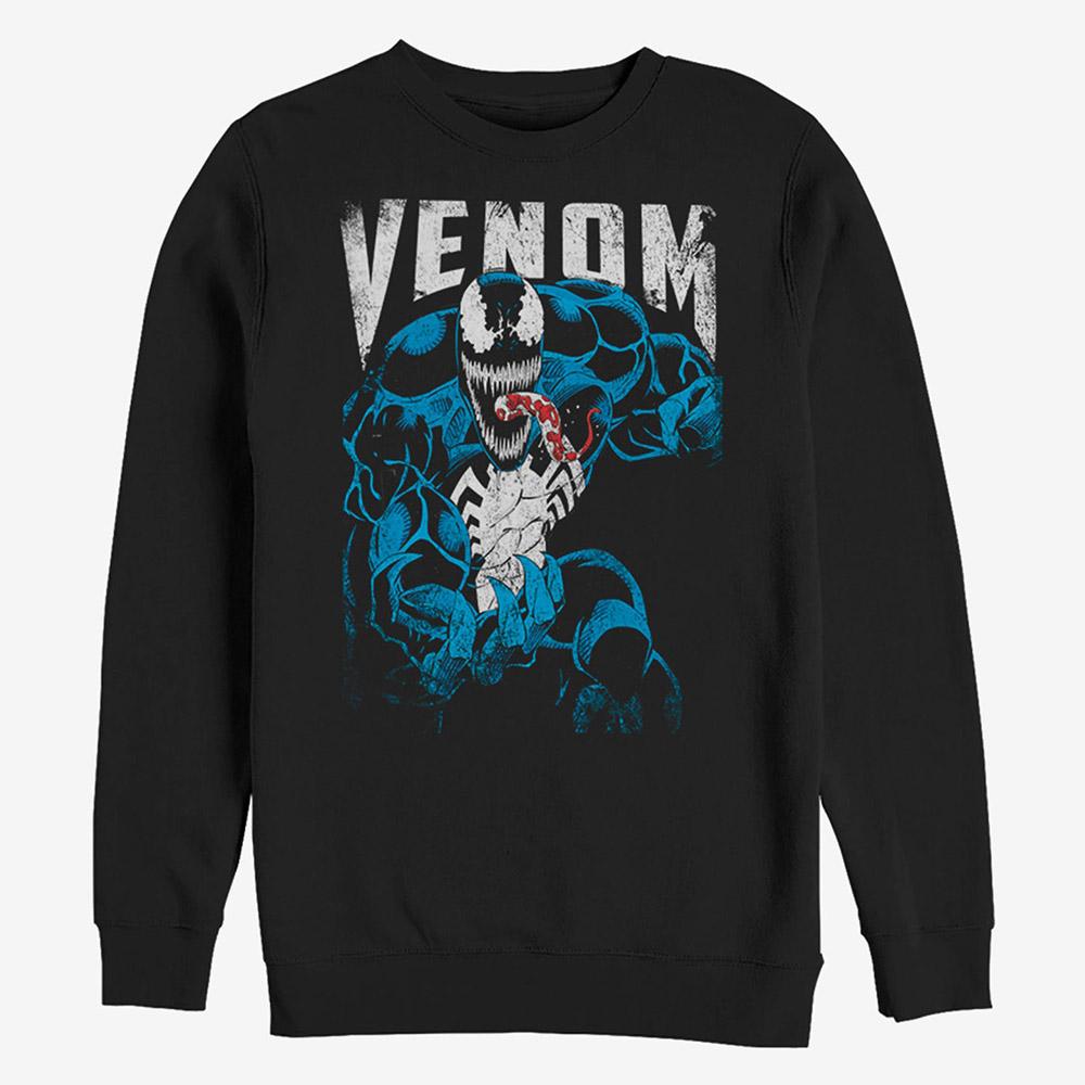 マーベル Marvel レディース メンズ兼用 ヴェノム スウェットシャツ
