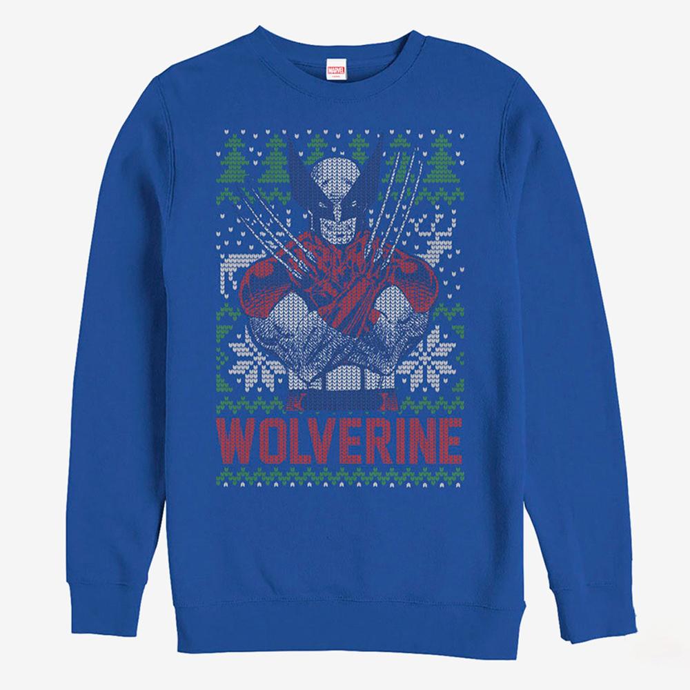 ウルヴァリン スウェット マーベル Marvel レディース メンズ兼用 クリスマス スウェットシャツ
