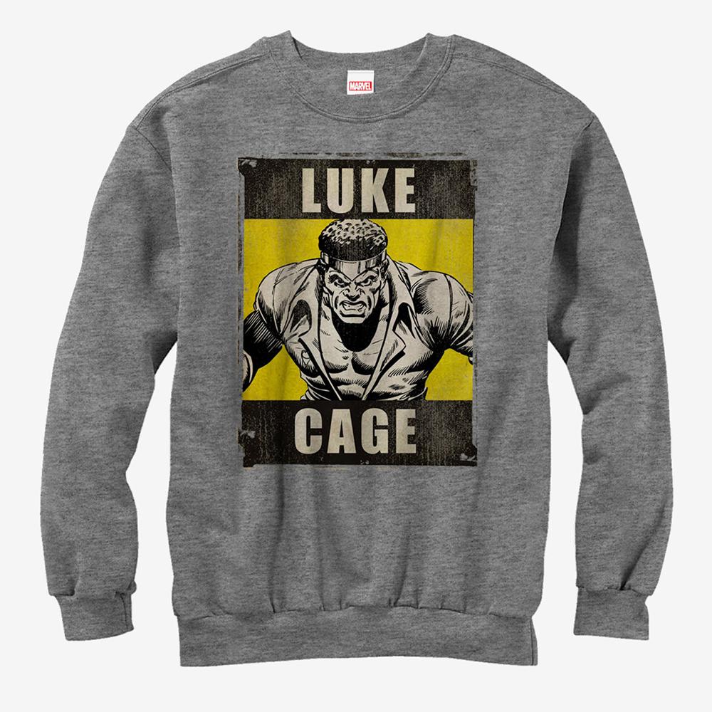 ルーク ケイジ スウェット マーベル Marvel レディース メンズ兼用 スウェットシャツ