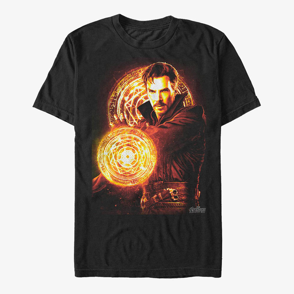 マーベル Marvel レディース メンズ兼用 ドクターストレンジ Tシャツ 半袖