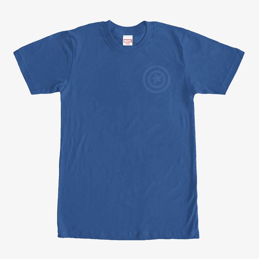 海外限定 マーベル Tシャツ マート キャプテンアメリカ 半袖 商店 Marvel レディース メンズ兼用