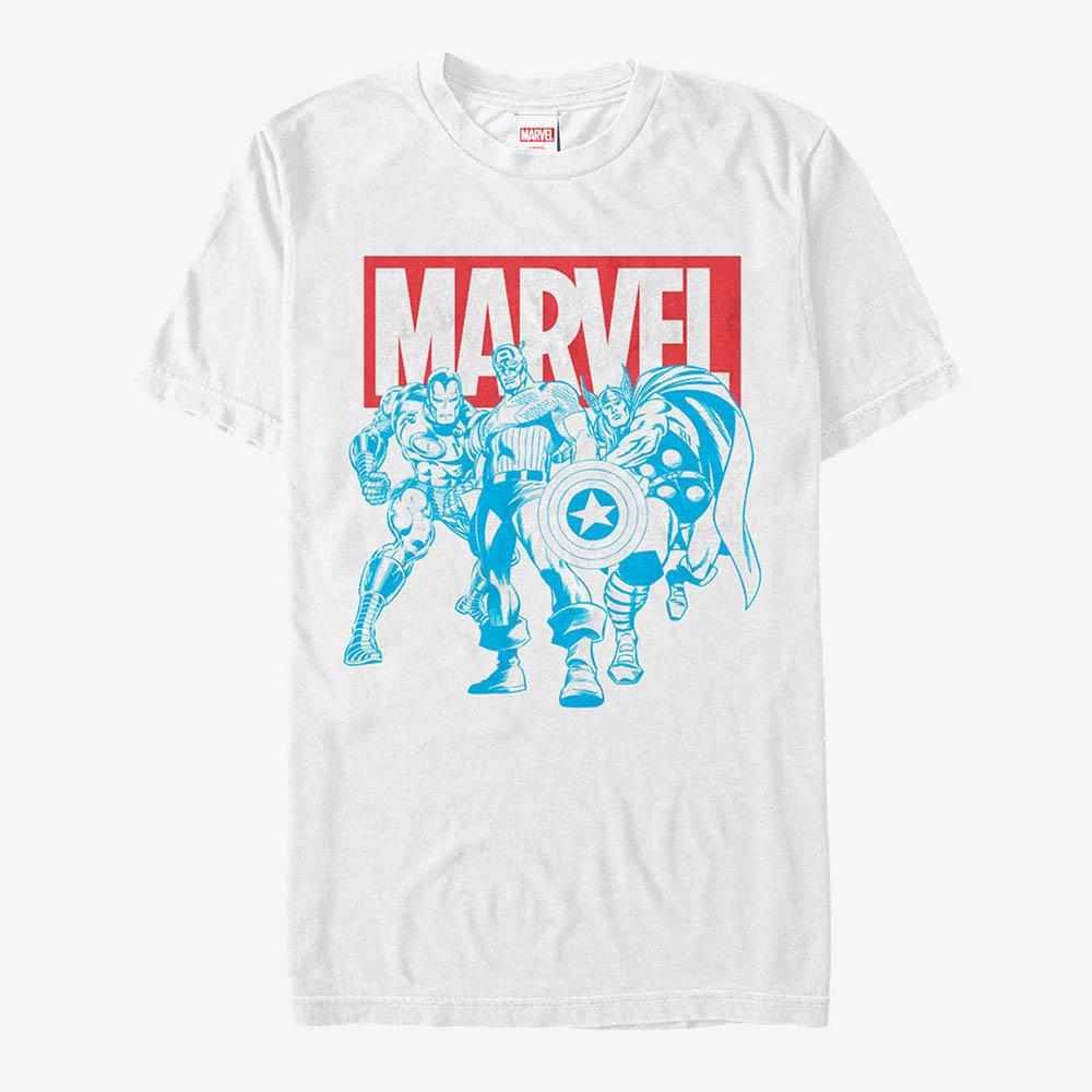 海外限定 マーベル Tシャツ 割り引き アベンジャーズ メンズ兼用 レディース 宅配便送料無料 Marvel 半袖