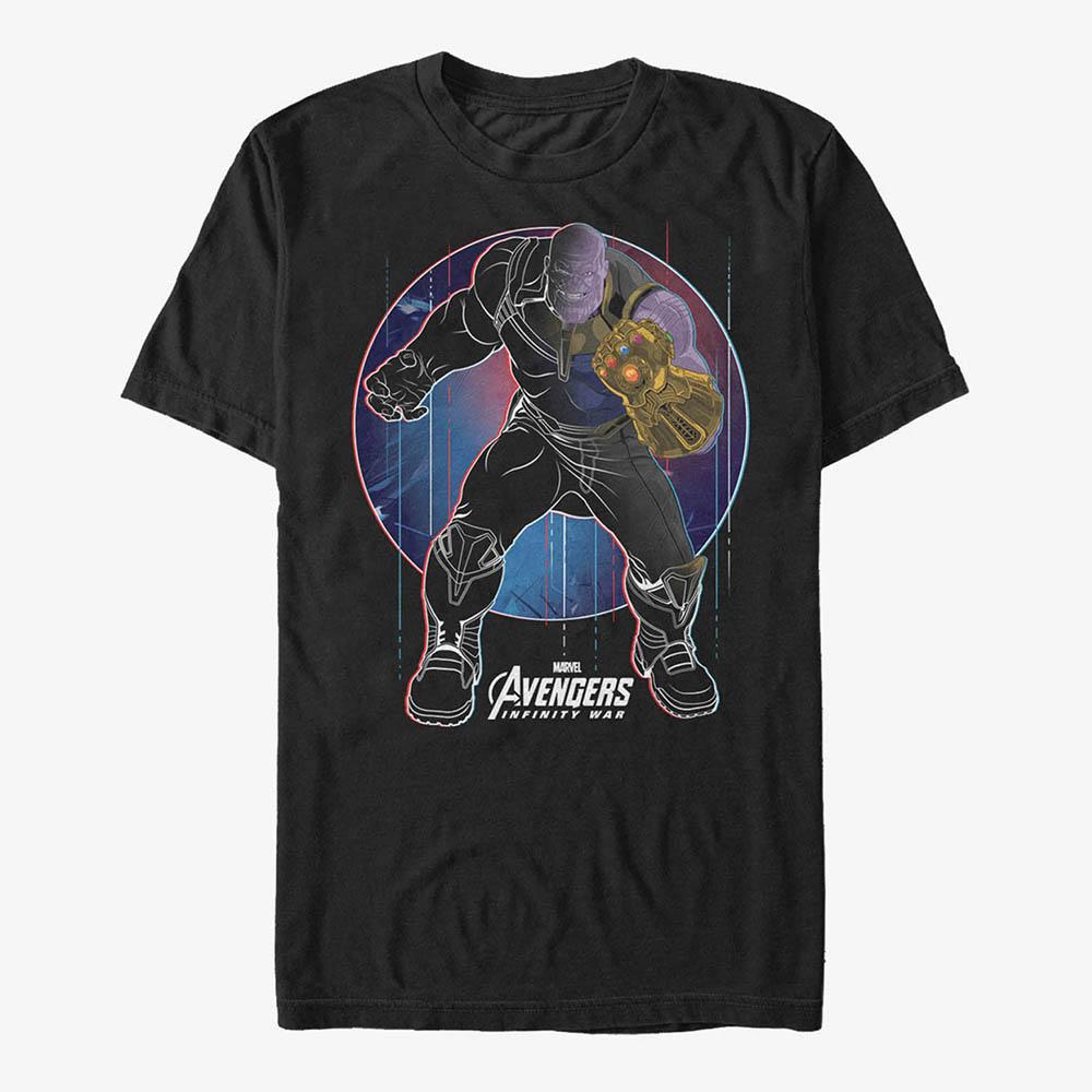 海外限定 ※アウトレット品 マーベル Tシャツ サノス 半袖 レディース Marvel メンズ兼用 お買い得