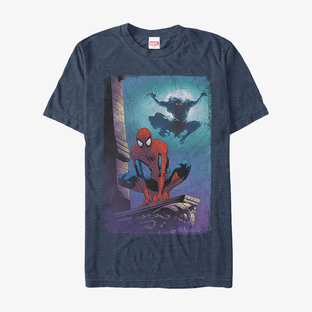 海外限定 日本未発売 マーベル 日本製 Tシャツ スパイダーマン メンズ兼用 Marvel レディース 半袖