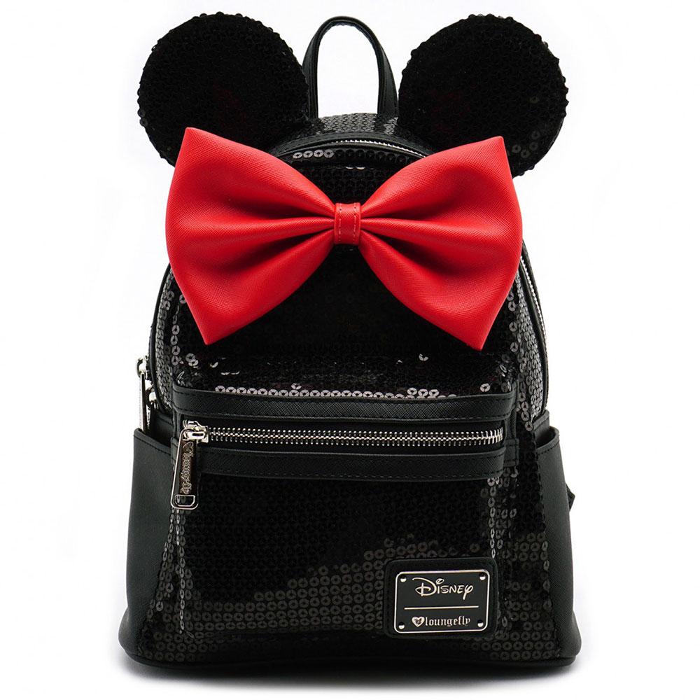 ディズニー Disney ミニーマウス ミニ バックパック リュック ラウンジフライ Loungefly