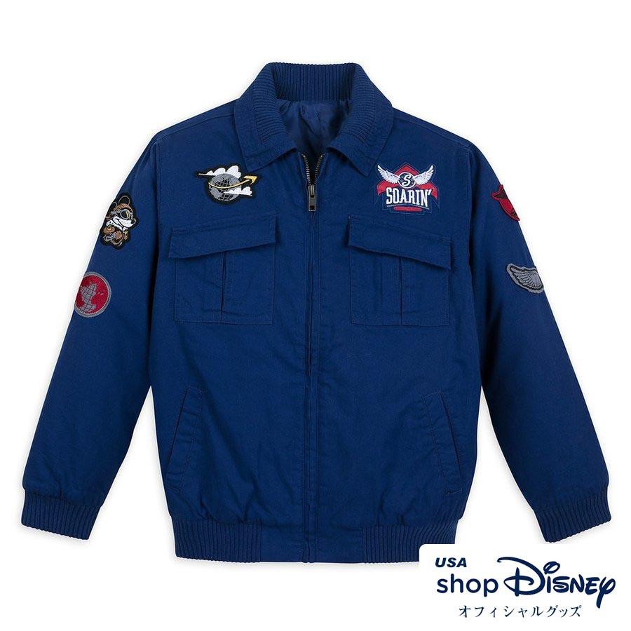 ディズニー Disney ミッキーマウス ソアリン フライトジャケット MA-1 ジャケット ボーイズ キッズ 男の子 ギフト プレゼント