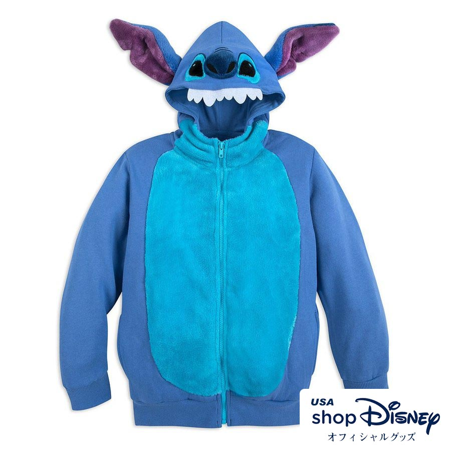 ディズニー Disney スティッチ リロアンドスティッチ コスチューム パーカー フーディー キッズ 男の子 女の子 ギフト