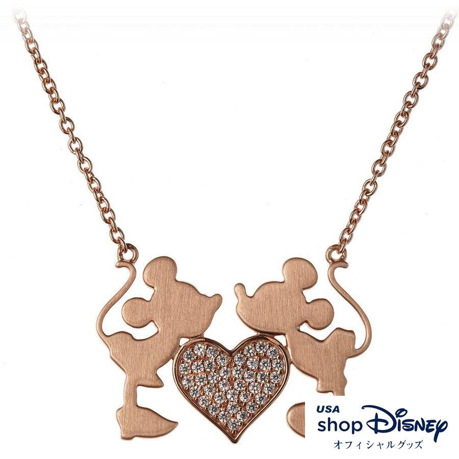 ディズニー Disney ミッキー ミニー ネックレス レディース ギフト プレゼント