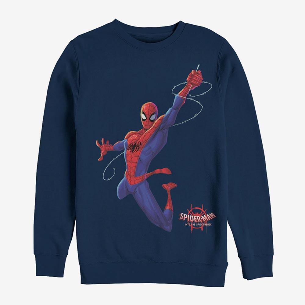 マーベル Marvel スパイダーマン スパイダーバース スウェットシャツ レディース メンズ