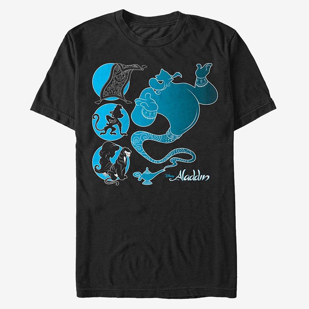 ディズニー Disney ジーニー アラジン Tシャツ 半袖 レディース メンズ