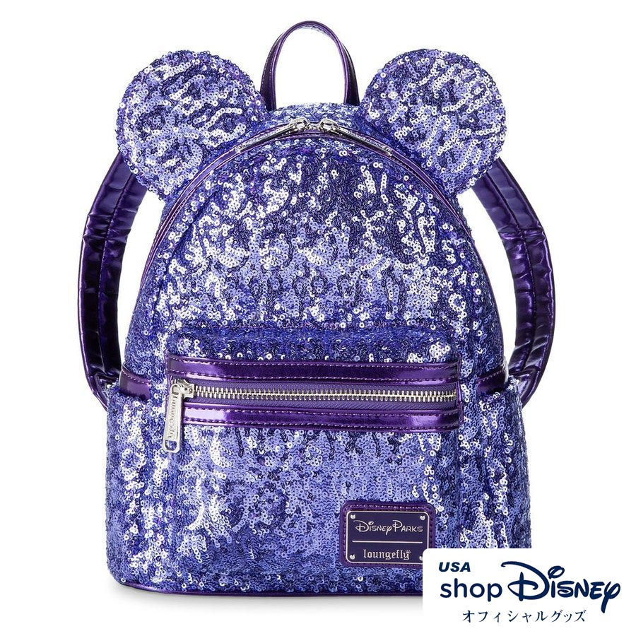 ディズニー Disney ミニーマウス ミニバックパック リュック ラウンジフライ Loungefly レディース メンズ ギフト プレゼント